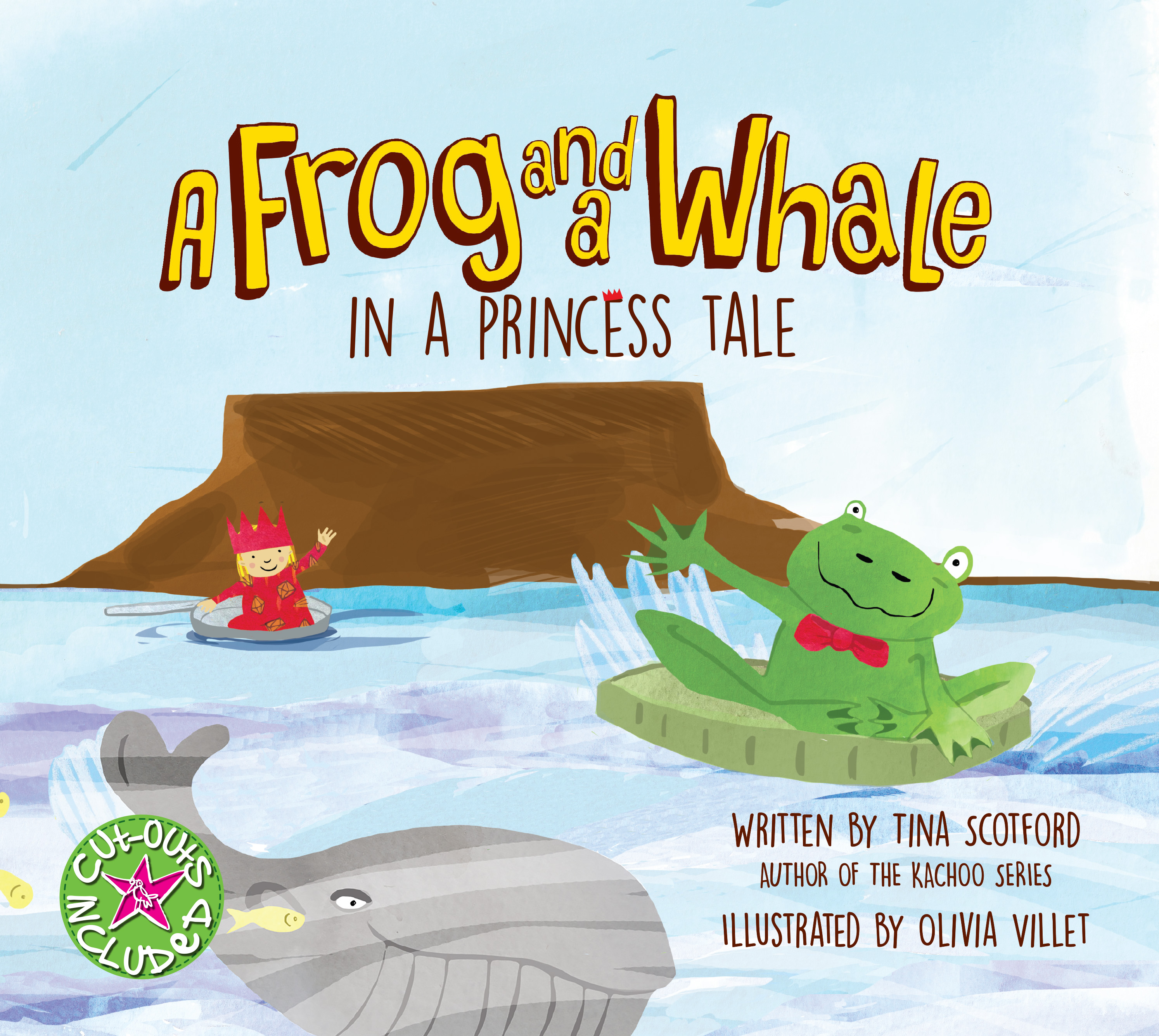 A FROG AND A WHALE IN A PRINCESS TALE